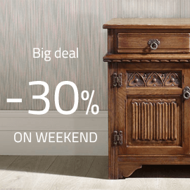 Big deal -30% on weekend